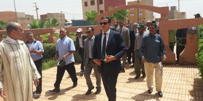 FKIH BEN SALAH : le Gouverneur et la délégation qui l'accompagne ont récemment effectué une visite à la commune de Bni Oukil.