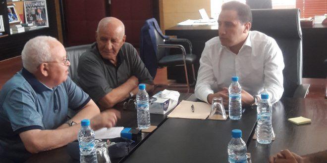 السيد ابراهيم مجاهد رئيس المجلس الجهوي لبني ملال خنيفرة يستقبل اعضاء مكتب اتحاد جمعيات مرضى داء السكري لجهة بني ملال -خنيفرة