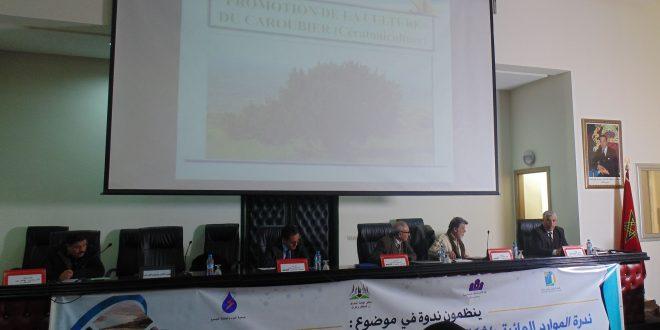 توقيع اتفاقية شراكة من أجل غرس 30 ألف شجرة خروب بفضاءات المؤسسات التعليمية بجهة بني ملال خنيفرة