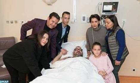 <h> جلالة الملك محمد السادس يجري عملية جراحية كللت بالنجاح <h/>