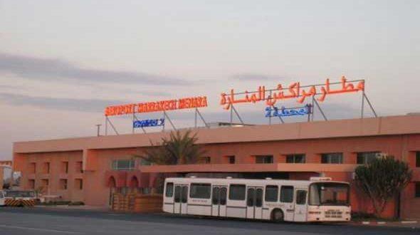 مراكش : توقيف مواطن بلجيكي بمطار مراكش المنارة