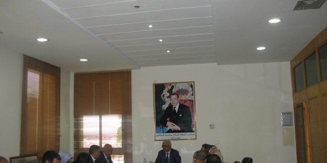 بني ملال : والي جهة بني ملال -خنيفرة يتراس اجتماع برنامج تنمية بني ملال الكبرى