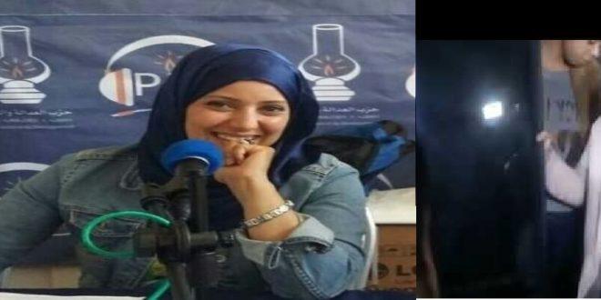 <h1>   الدار البيضاء : لحظة وصول آمال الهواري في حالة اعتقال من طرف الشرطة إلى محكمة الإسثئناف بالدار البيضاء