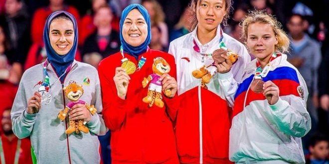 <h1>   أول ذهبية في تاريخ المغرب في الألعاب الأولمبية للشباب تنتزعها أبو فارس  <h1/>