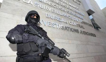 <h1>  الفرقة الوطنية تعتقل طالبا بالمحمدية يعد لمشروع إرهابي باستخدام حزام ناسف  <h1/>