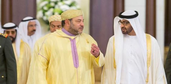 <h1>   الرباط : صاحب الجلالة الملك محمد السادس يشيد بالعلاقات التاريخية بين المغرب والإمارات. <h1/>