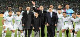 <h1>      الدار البيضاء : جلالة الملك يهنئ نادي الرجاء الرياضي البيضاوي لكرة القدم.      <h1/>