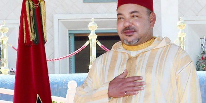 <h1>   صاحب الجلالة الملك محمد السادس برقية تهنئة إلى السيد تشو دونج يو ،    <h1/>