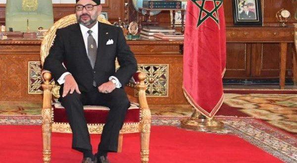 <h1>  الملك محمد السادس يدشن ميناء طنجة المتوسط.  <h1/>