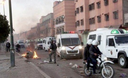 """<h1>     ولاية العيون : فتح بحث بخصوص أعمال تخريب بالعيون عقبت تتويج الجزائر بـ""""الكان""""    <h1/>"""