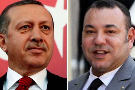 <h1>  إردوغان في زيارة مرتقبة للمغرب بدعوة ملكية      <h1/>