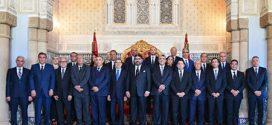 <h1>    جلالة الملك يستقبل رئيس الحكومة وأعضاء الحكومة في صيغتها الجديدة بعد إعادة هيكلتها   <h1/>