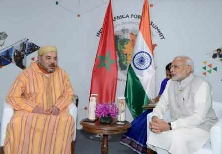 <h1> الملك محمد السادس يهنئ الرئيس الهندي رام نات كوفيند  <h1/>