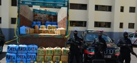 <h1>   الدار البيضاء .. حجز ثلاثة أطنان ونصف من مخدر الشيرا على متن شاحنة لنقل البضائع وتوقيف شخصين (بلاغ)  <h1/>