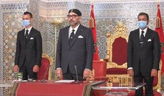 <h1>     الرباط – وجه صاحب الجلالة الملك محمد السادس، نصره الله، مساء اليوم السبت، خطابا ساميا إلى الأمة بمناسبة الذكرى الخامسة والأربعين للمسيرة الخضراء المظفرة       <h1/>