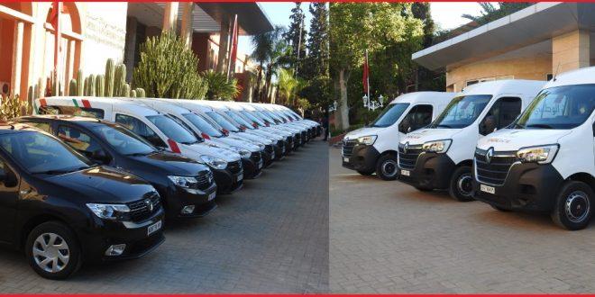 <h1> بني ملال …. ولاية أمن بني ملال تتسلم خمس عشرة سيارة في اطار اتفاقية مع مجلس جهة بني ملال خنيفرة <h1/>