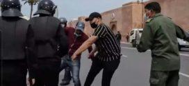 <h1>  الرباط :  عبد اللطيف حموشي المدير العام للأمن الوطني ومراقبة التراب الوطني يصدر تعليمات صارمة للمصالح الأمنية لتوفير كل المعطيات التعريفية لمعنف الاساتذة المحتجين.  <h1/>
