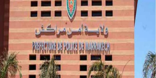 <h1>  مراكش ……المصلحة الولائية للشرطة القضائية بمدينة مراكش تحيل  على النيابة العامة المختصة ثلاثة أشخاص ، للاشتباه في تورطهم في قضية تتعلق بالسرقة. <h1/>