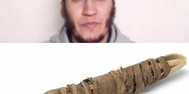 """Mohamed Hajib … der Betrûger , der ein """" Miswak-Būndel """" fűr anderthalb Millionen Euro verkaufte ."""